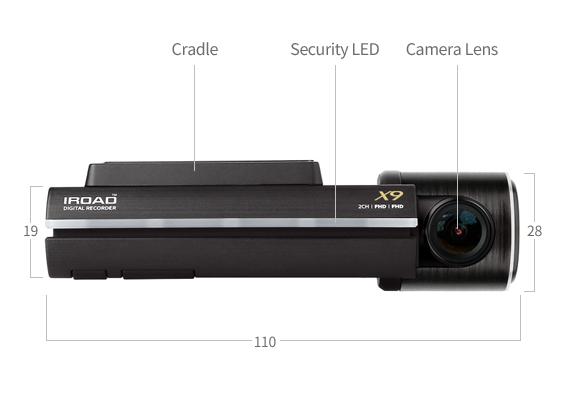 IRoad X9 Dash Cam