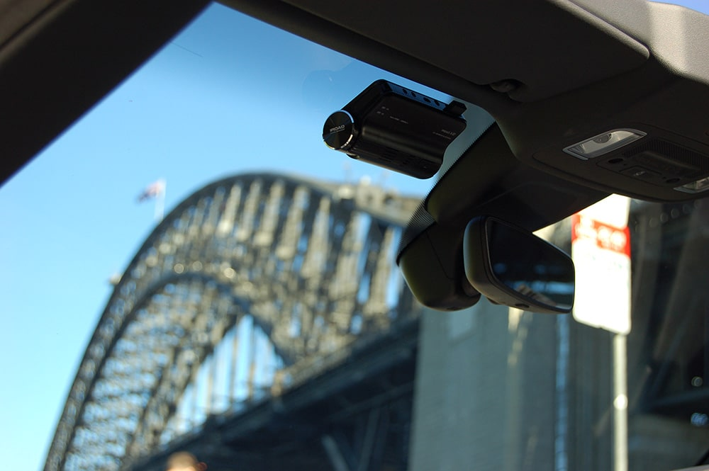 X10 Dash Cam View